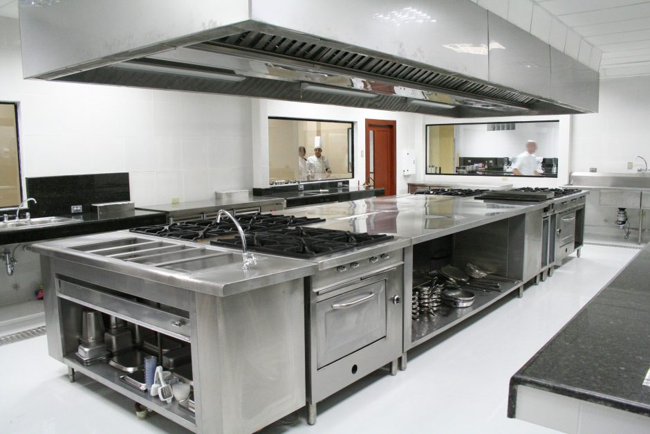 Rvs keuken voor de horeca simply at homesimply at home Kitchen design for fast food restaurant